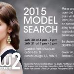 Baton Rouge Fashion Week Model Search 1/30-1/31