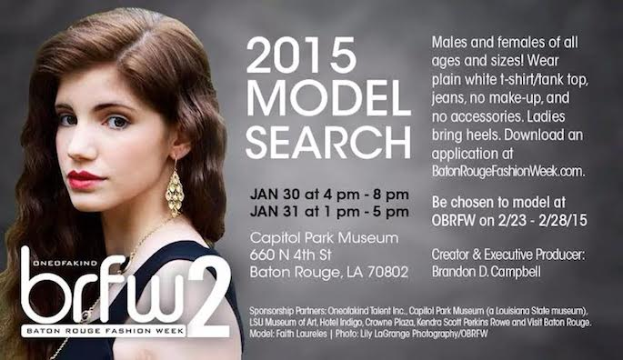 OneofaKind Baton Rouge Fashion Week Model Search