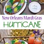 New Orleans Mardi Gras Hurricane Cocktail Recipe