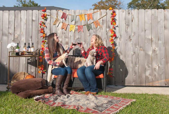 Southern Flair & Blue Lemon Co's Friendsgiving Celebration