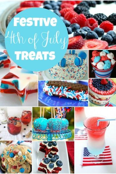 Festive 4th of July Treats