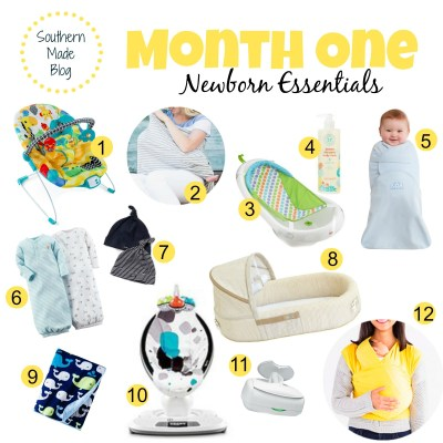 Month One | Newborn Essentials + Giveaway