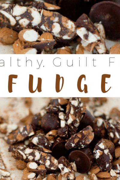 Healthy, Guilt Free Fudge