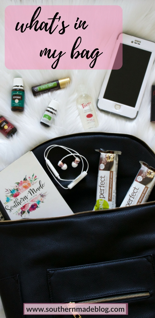 What's in My Bag | Southern Made Blog
