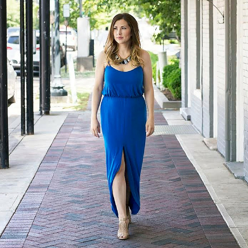 Pregnancy Style | How to Wear a Maxi Dress in the First Trimester