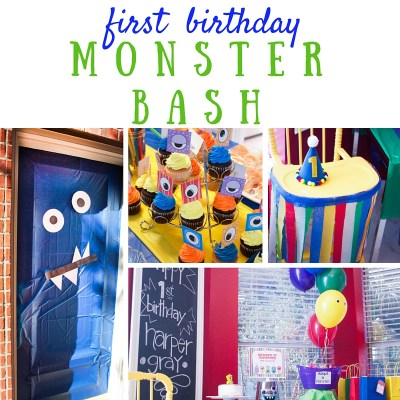 Harper's 1st Birthday | A Monster Bash