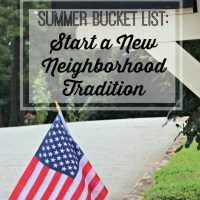 Wave Your Flag - Our New Neighborhood Tradition