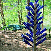 {Mom's Garden} Blue Bottle Tree