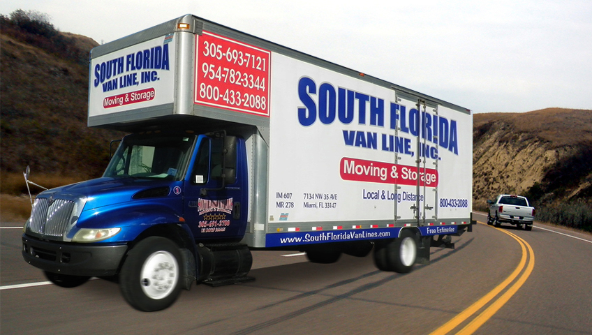 long distance moving home South Florida Van Lines | Miami Movers | Fort Lauderdale Movers
