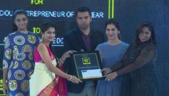 Allola Divya Reddy wins SouthScope's Most Eco Conscious Entrepreneur of the Year Award