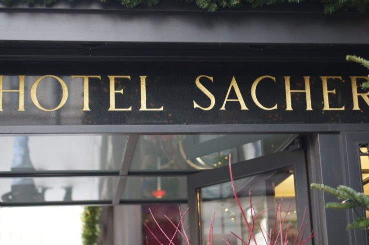 Sacher cafe vienna hotel sacher