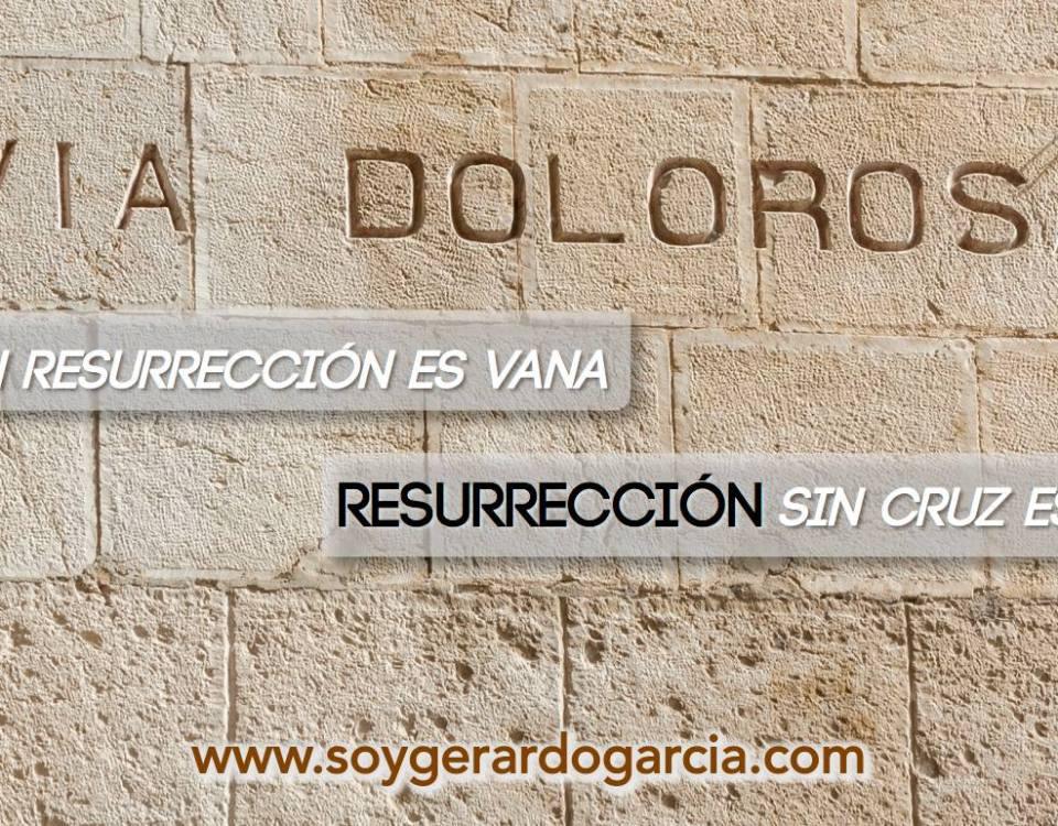 Cruz sin resurrecion