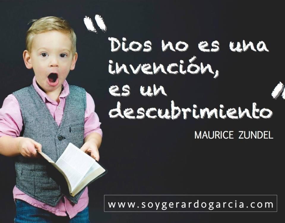 Dios no es una invencion