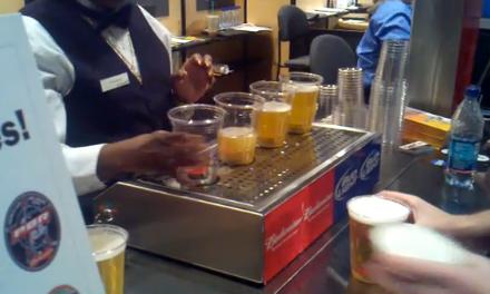 """Tirador """"mágico"""" de Cerveza"""