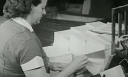 Así se fabricaban los libros en 1947