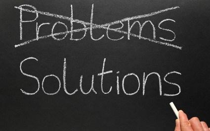 Encontrar el problema a una solución