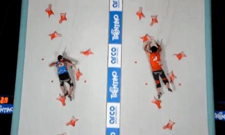 Record del mundo de velocidad escalando