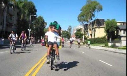 CicLAvia, el día que los ciclistas se hacen dueños de Los Ángeles