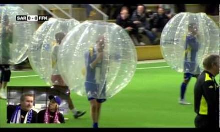 Descubre el fútbol-burbuja