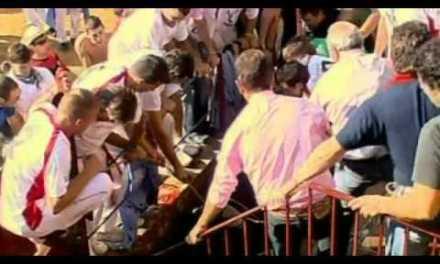 Video del toro que saltó al tendido en Tafalla hiriendo a 40 personas