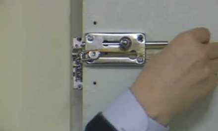 Como abrir una puerta con cadena de seguridad