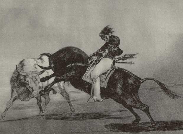 'La tauromaquia' de Francisco de Goya