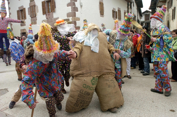 Carnavales de Lantz (Navarra)