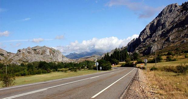 Los amplios valles de la comarca leonesa de Luna