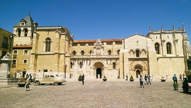 Colegiata de San Isidoro, en León
