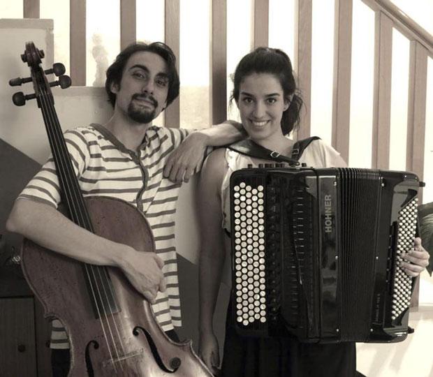 Miguel Ángel Viñuela y Ana Sarmiento