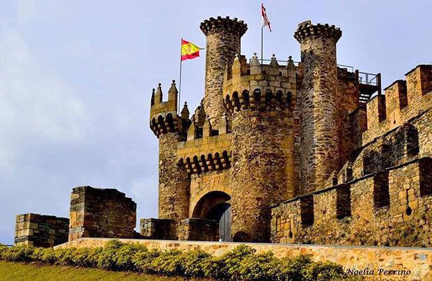 Castillo de los templarios de Ponferrada / Noelia Perrino