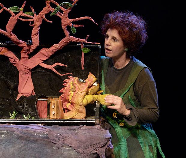 Teatro dei Fauni y El bosque en la maleta