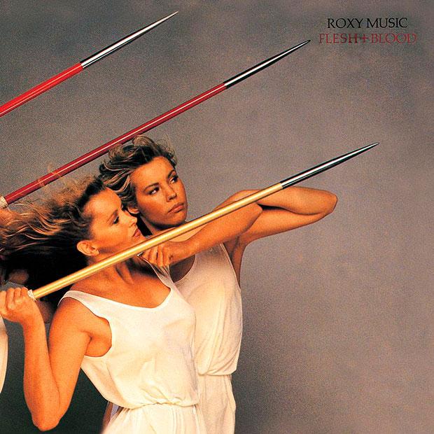 Portada de Flesh + Blod de los británicos Roxy Music