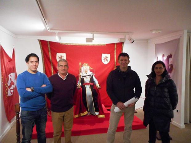 Exposicion 'Reyes y Reinas de León'
