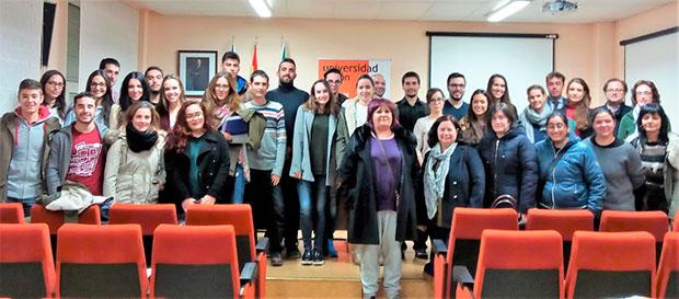 Alumnos y mujeres emprendedoras en la Universidad de León