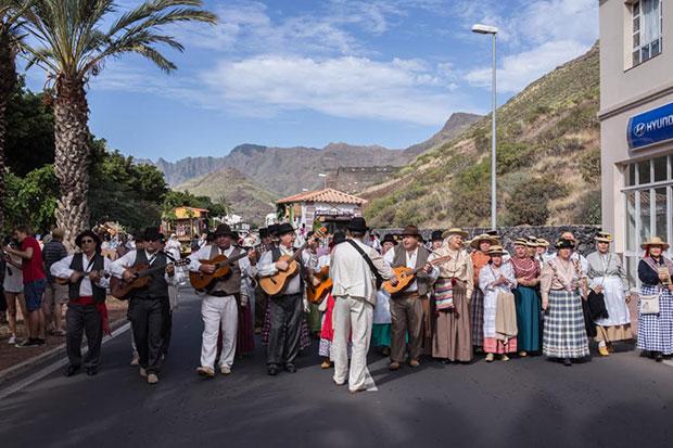 Romería de San Sebastián de La Gomera (Canarias)