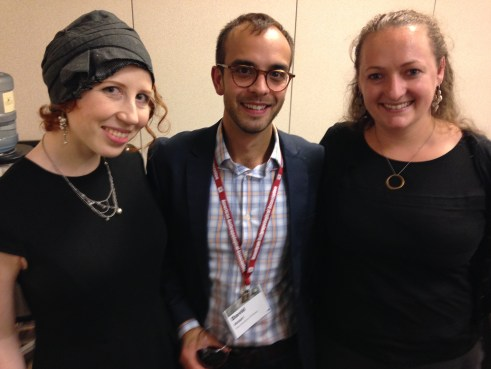 Three of the 2013 Lemelson Fellows, Kelsey London Robbins, David Aftab Ansari, and Laura Horton, attended the SPA business meeting at the AAA annual meeting in Chicago, IL.