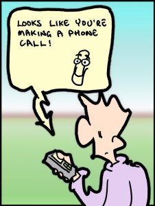Nokia Windows Cartoon
