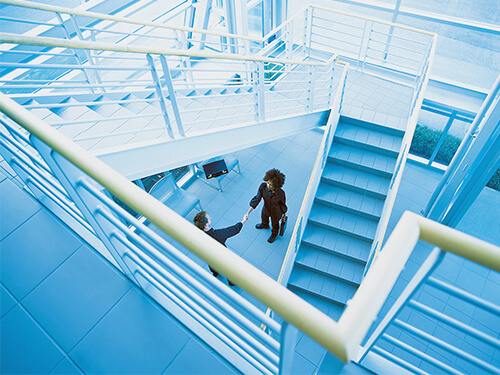 Image of Double-height office mezzanine floor and staircase installation Lease-end dilapidations and the law