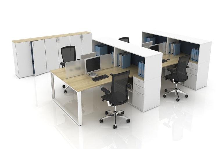 Picture of Techo Arkus ICE Contemporary Office Desk Systems
