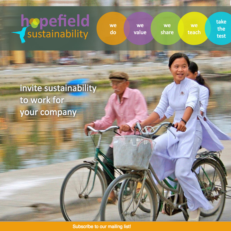 Hopefield Sustainability