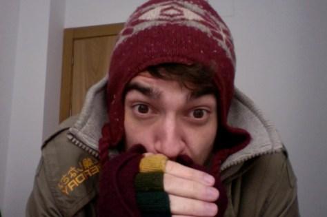 spain, cold, winter, hat, gloves
