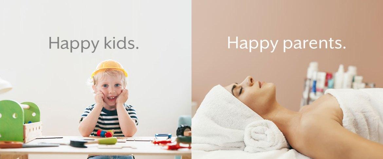 Happy kids. Happy Parents.