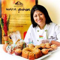 Una buena Embajadora de la Quinua ante el mundo, Ana Chipana