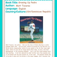 Growing Up Pedro, a Summer Reading Recommendation