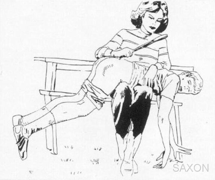 computer f m spanking art