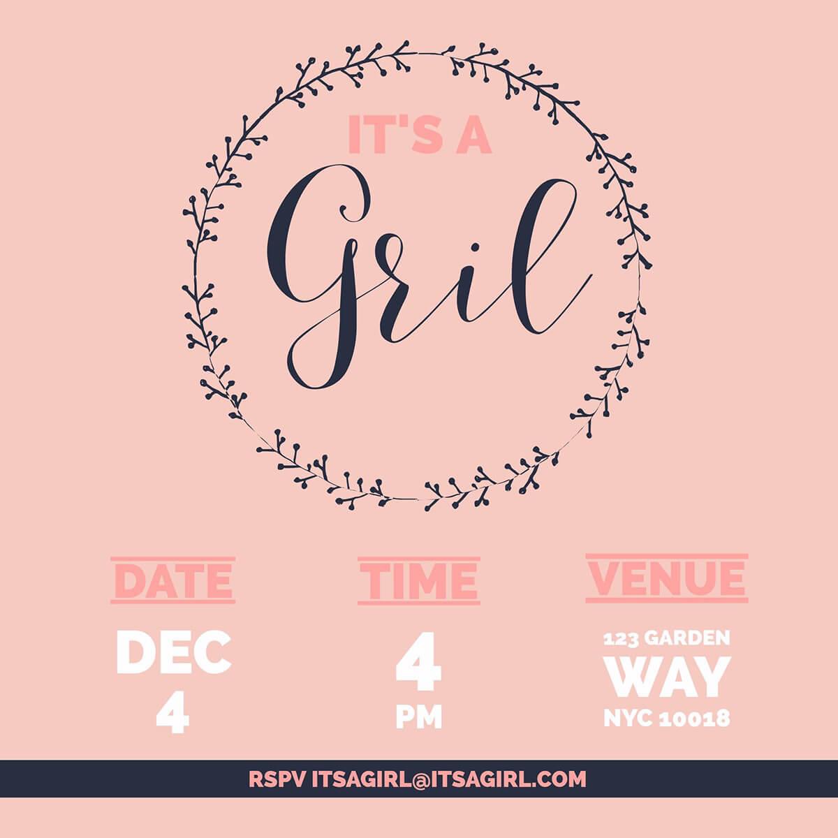 Fullsize Of Baby Shower Invitations Girl