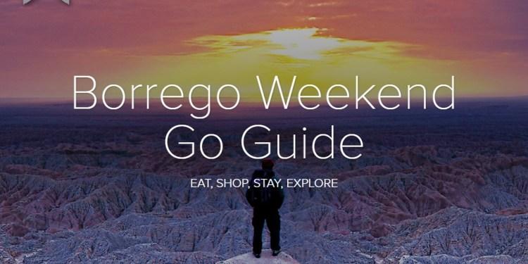 Borrego Weekend Go Guide