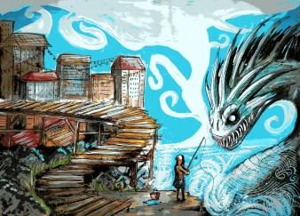 Monsters and Marvels by Luke Spooner