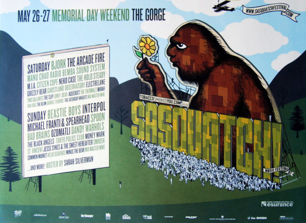 Sasquatch 2007